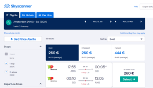 Cheap-flights-from-Amsterdam-to-Sal-2020